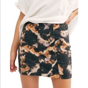 NWT Free People Modern Femme Novelty skirt